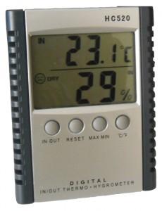 συσκευή μέτρησης υγρασίας και θερμοκρασίας